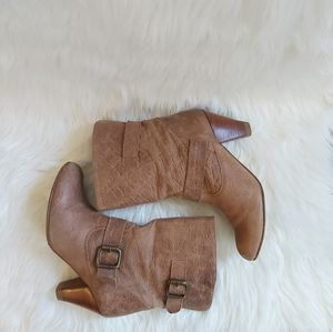 Steve Madden Leather Festival Bootie